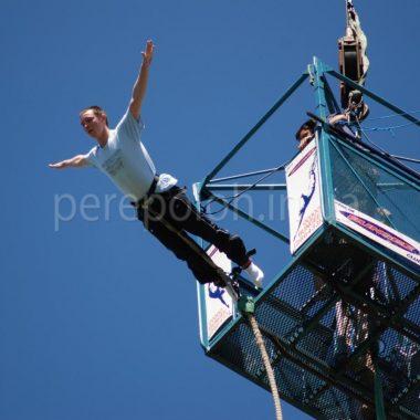 прыжки с высоты, экстрим, джампинг