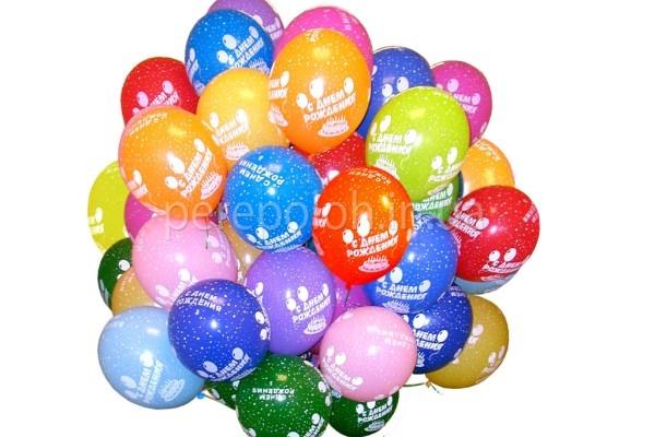 надувные шары, гелиевые шары, однсса