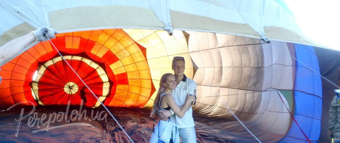 Стриптиз на воздушном шаре
