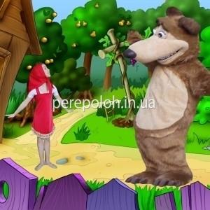 Ростовая кукла Медведь и Маша Одесса