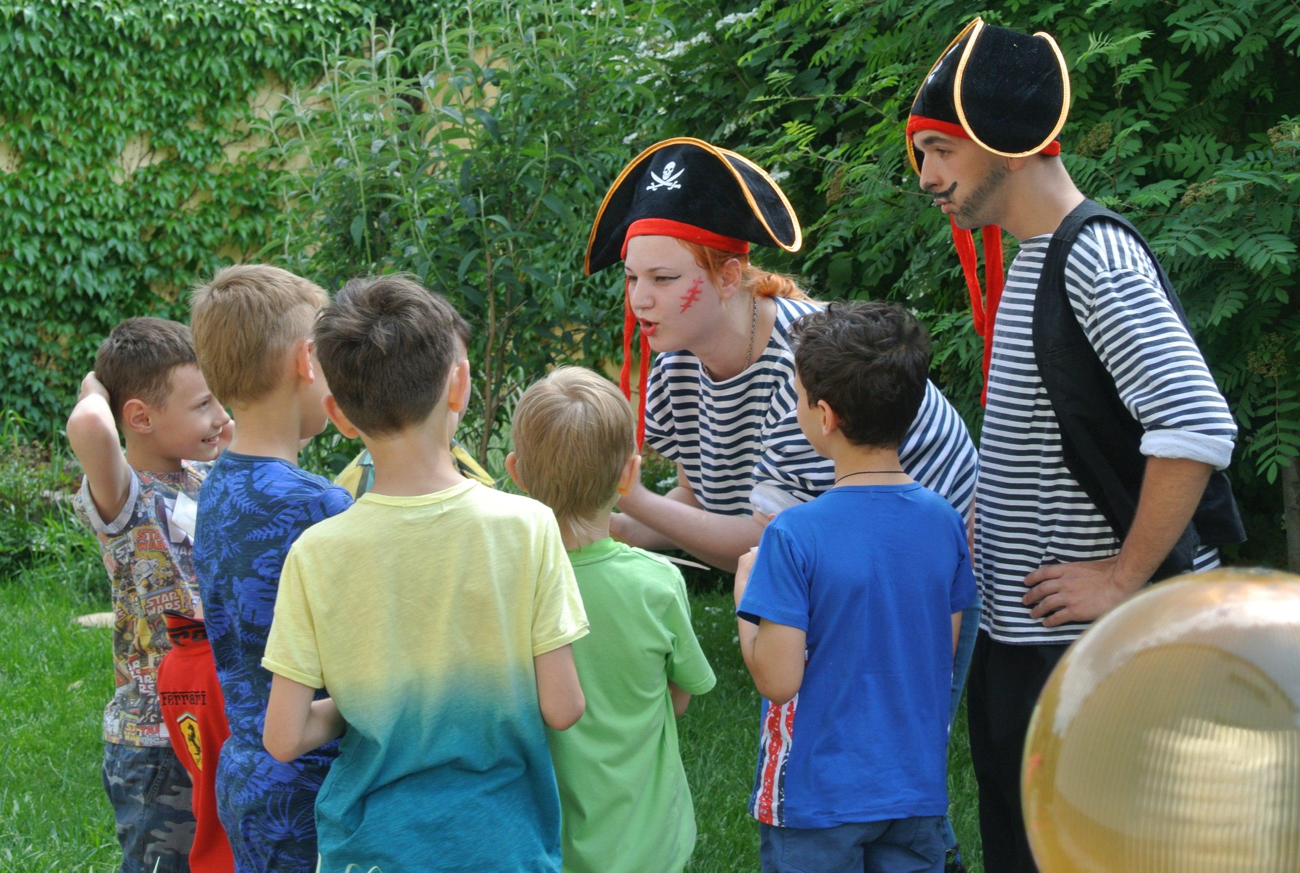 пиратский квест в Одессе, пиратский квест в Одессе, пиратский квест для детей