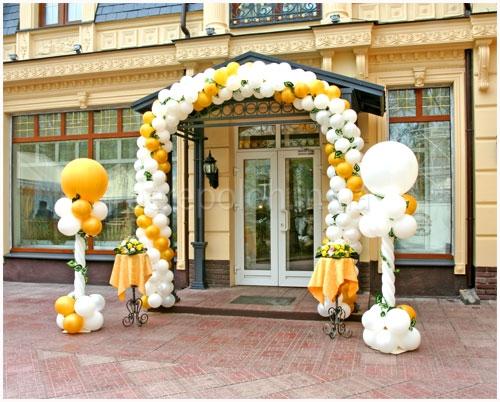 арка из шаров одесса
