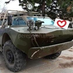 аренда бронеавтомобиля в Одессе, аренда танка, аренда военной техники