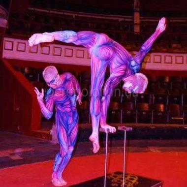 гимнасты, акробаты, шоу программа в одессе