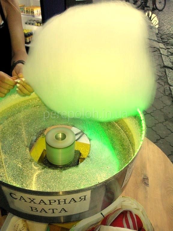 Как сделать цветную сахарную вату на аппарате