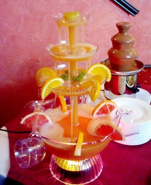 фонтан напиток, детский праздник, одесса