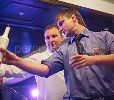 бармен, бармер шоу, мастер класс