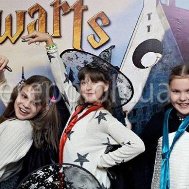 развлечение для детей в стиле Гарри Поттер