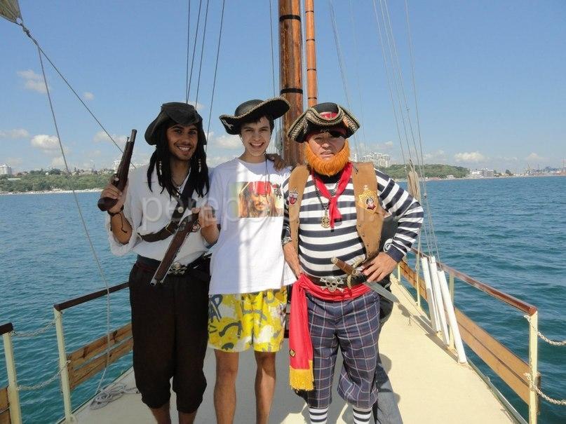 квест, активный отдых, пираты, одесса
