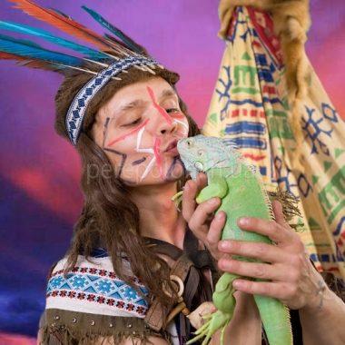 программа для детей, детский праздник в Одессе, ковбои и индейцы
