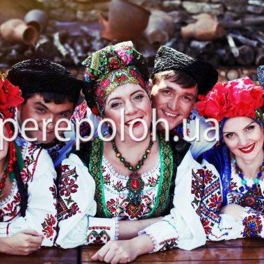 украинский коллектив на праздник в Одессе