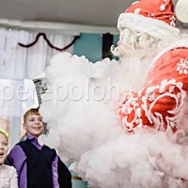 снегурочка и дед мороз химическое шоу