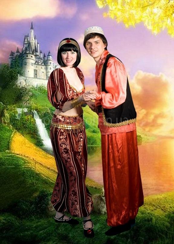 "Восточная сказка ""Алладин и Жасмин"""
