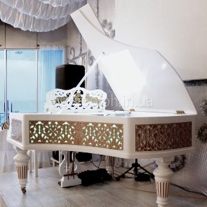 светящийся рояль, необычный рояль Одесса, рояль с подсветкой