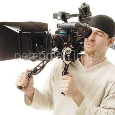 Видеооператор, заказать в Одессе