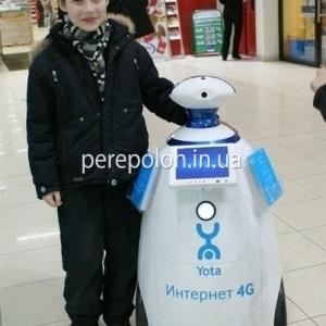 Мобильный робот промоутер Одесса