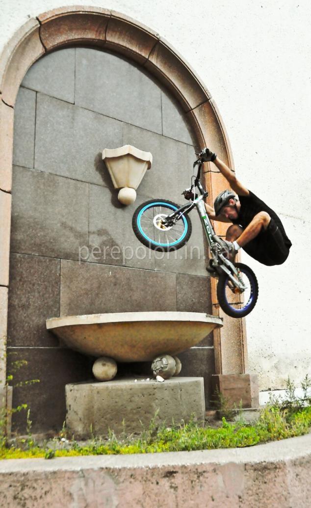Трюки на велосипеде, Одесса