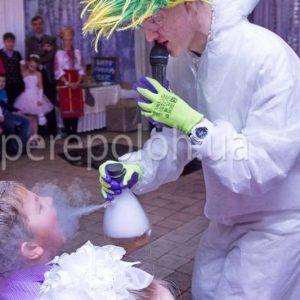научное химическое шоу для детей