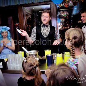 мастер класс для детей от бармена