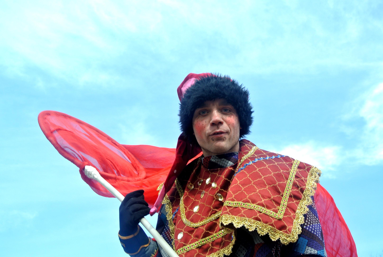 ходулист в Одессе