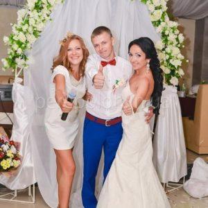 Host Olga on wedding in Odessa