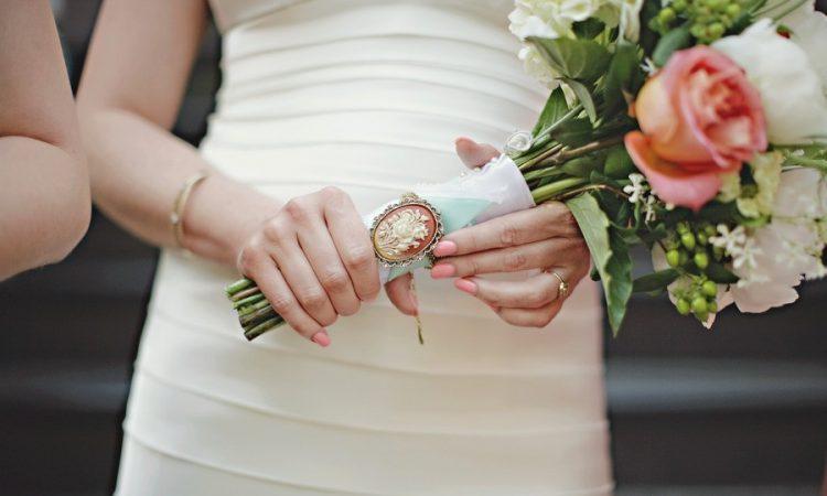 свадьба в стиле камея