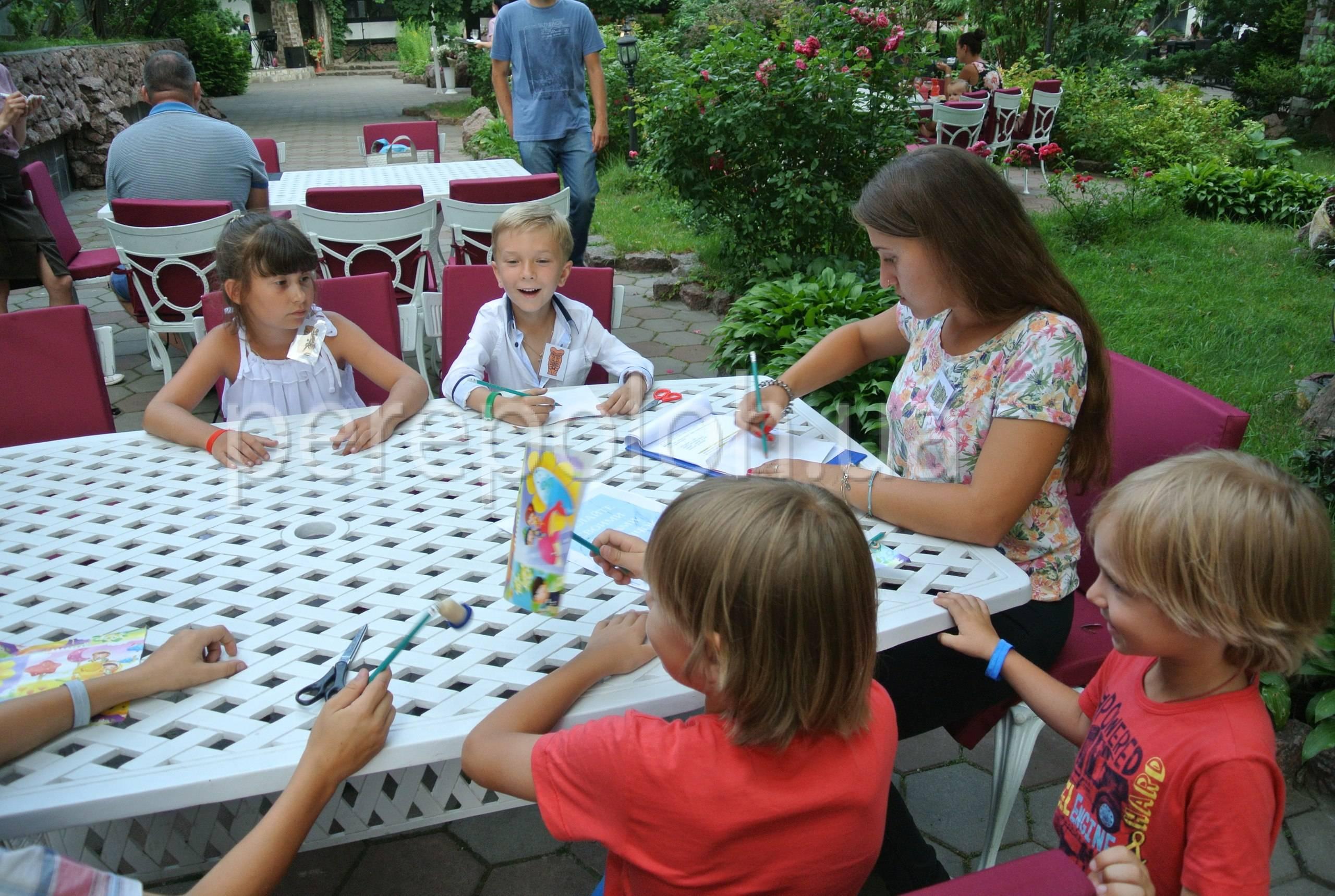 детский тематический квест, квест 4 стихии для детей в Одессе, квест 4 стихии Одесса