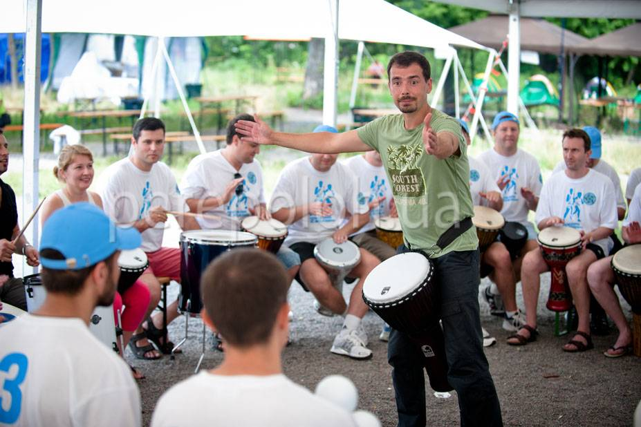 Барабанный круг в Одессе