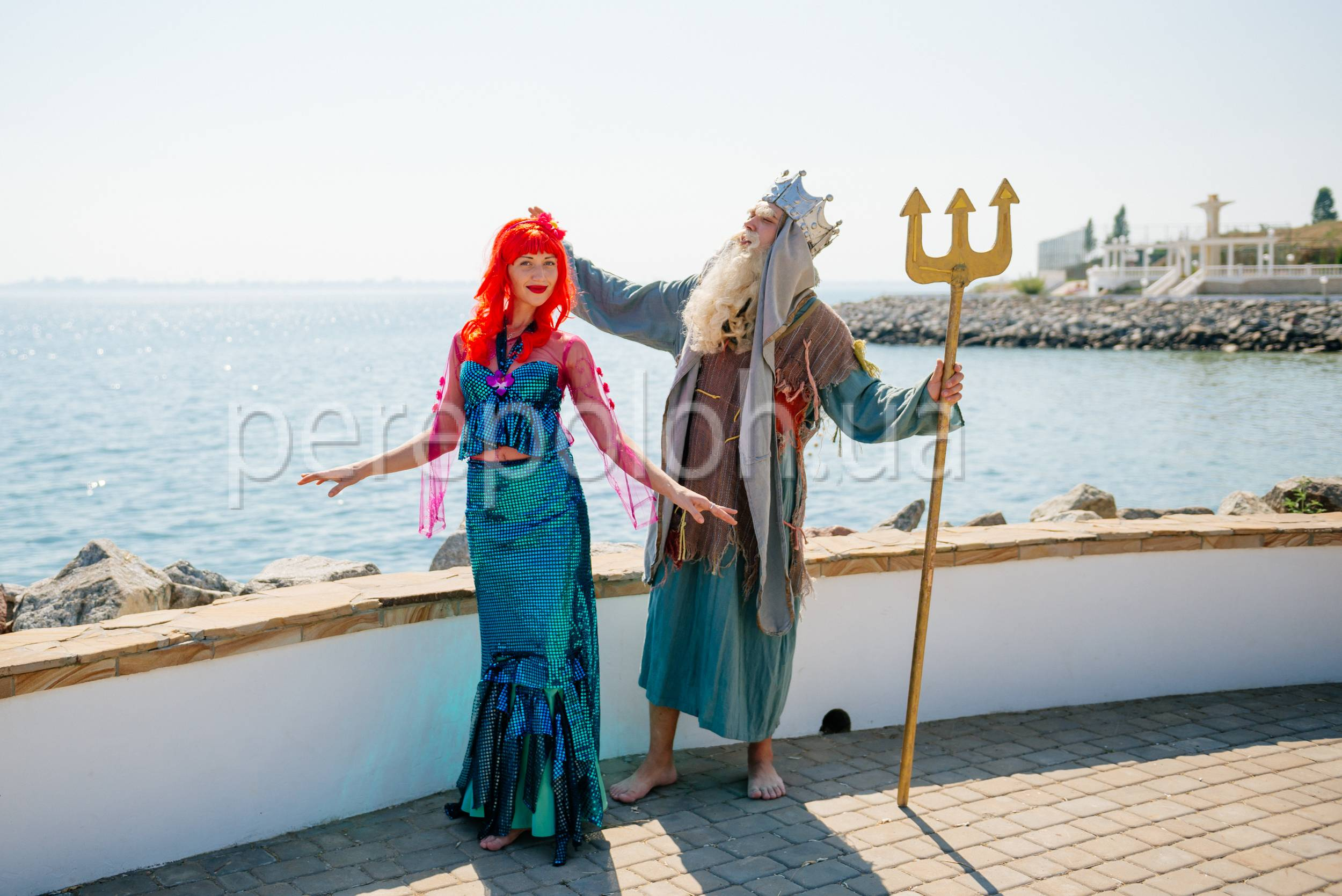 нептун и русалочка в Одессе